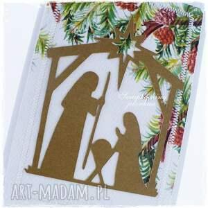 pomysł na prezent święta boże narodzenie - kartka