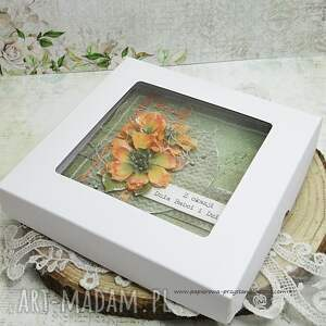 unikalne scrapbooking kartki babcia dla babci i dziadka - kartka