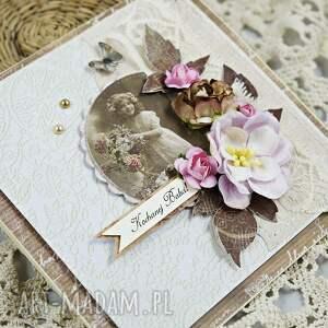 hand made scrapbooking kartki dzień-babci dla babci