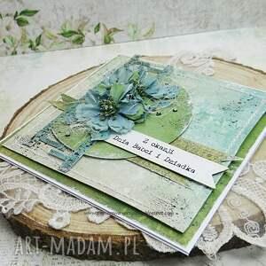 zielone scrapbooking kartki kartka dla babci eśli szukasz wyjątkowego upominku dla dziadków