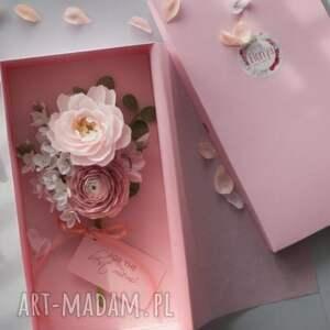 Mira flowers93 gustowne scrapbooking kartki 3d karteczki 3d na prezent dla mamy