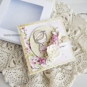 różowe scrapbooking kartki dla nauczyciela dzień - kartka
