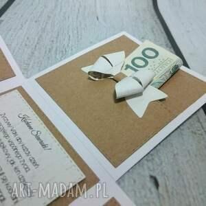 białe scrapbooking kartki box eko exploding box.
