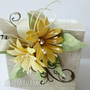białe scrapbooking kartki życzenia eksplodujące pudełko