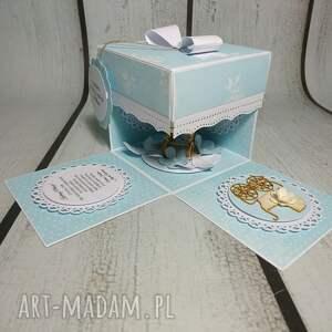 oryginalne scrapbooking kartki urodziny exploding box / eksplodujące