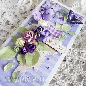 oryginalne scrapbooking kartki kartka urodzinowa/imieninowa, 543