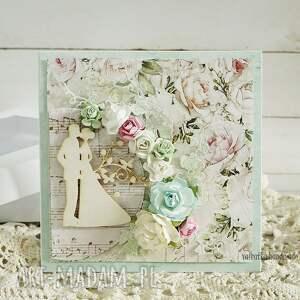 scrapbooking kartki kartka ślubna w pudełku, 155