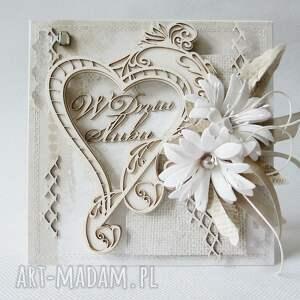rocznica scrapbooking kartki ślubna kartka w pudełku