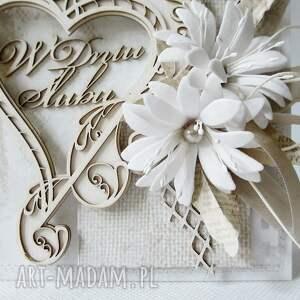 scrapbooking kartki rocznica ślubna kartka w pudełku