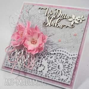 scrapbooking kartki w dniu ślubu
