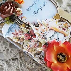 modne scrapbooking kartki urodziny jesienna kartka urodzinowa, 500