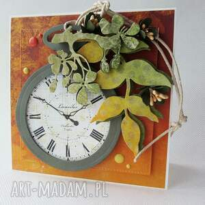 handmade scrapbooking kartki jesień jesienne