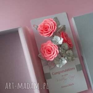Mira flowers93 scrapbooking kartki money karteczki