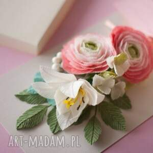 Mira flowers93 scrapbooking kartki 3d karteczki
