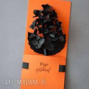 scrapbooking kartki: Karteczki 3D na Helloween - prezent