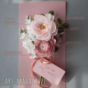 scrapbooking kartki 3d luxury flower gift box for mom, personalised