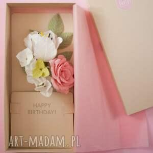 unikalne scrapbooking kartki urodziny karteczki 3d w pudełku