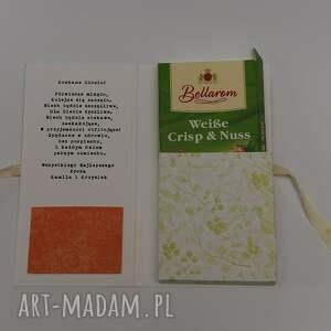 scrapbooking kartki kartka czekoladownik