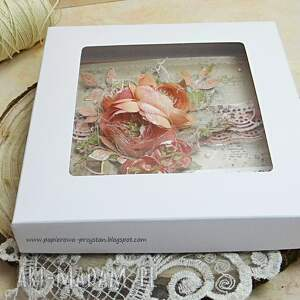 oryginalne scrapbooking kartki babcia kartka dla babci w pudełku