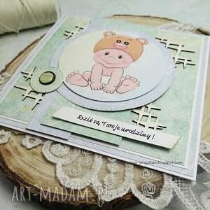 hand made scrapbooking kartki kartka dla maluszka