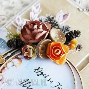 modne scrapbooking kartki jesienna kartka urodzinowa, 500