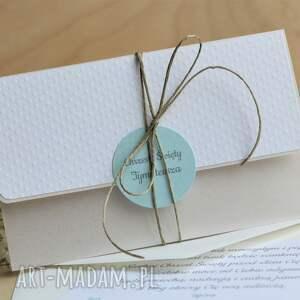 białe scrapbooking kartki święty kartka kopertówka na chrzest