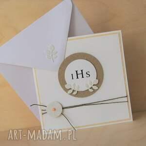 pomysł na upominek święta pamiątka kartka lub zaproszenie komunię