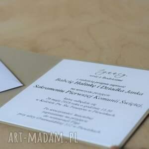 pomysły na upominki świąteczne komunia kartka lub zaproszenie komunię