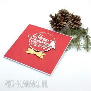 pomysł na świąteczny prezent czerwone kartka boże narodzenie