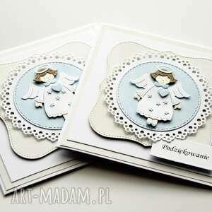 ręcznie robione scrapbooking kartki chrzest kartka na święty