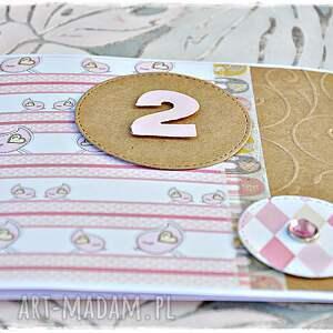 białe scrapbooking kartki urodziny kartka na dowolne dla