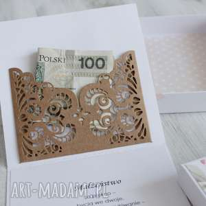 hand made scrapbooking kartki kartka na ślub