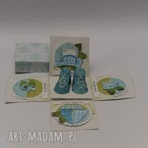 scrapbooking kartki kartka pudełko box chrzest lub