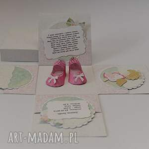 hand-made scrapbooking kartki kartka pudełko box urodziny lub