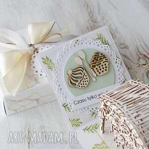 zielone scrapbooking kartki pudełko-eksplodujące kartka pudełko na ślub