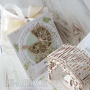 scrapbooking kartki kartka pudełko na ślub