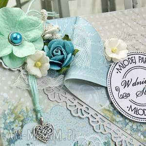 białe scrapbooking kartki ślubna kartka - delikatność