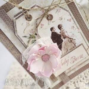 wyjątkowe scrapbooking kartki kartka-ślubna kartka ślubna