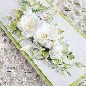 handmade scrapbooking kartki slub kartka ślubna w pudełku, 454