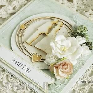 scrapbooking kartki ślub kartka ślubna w pudełku, 216