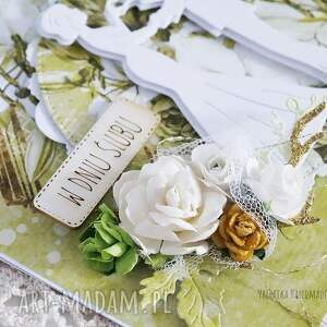 scrapbooking kartki ślub kartka ślubna w pudełku, 449