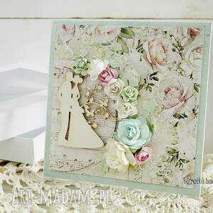 scrapbooking kartki ślub kartka ślubna w pudełku, 155