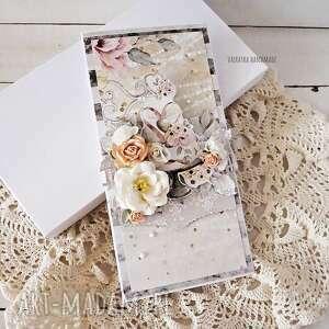scrapbooking kartki kartka ślubna w pudełku, 590