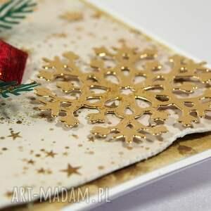 świąteczny prezent kartka świąteczna