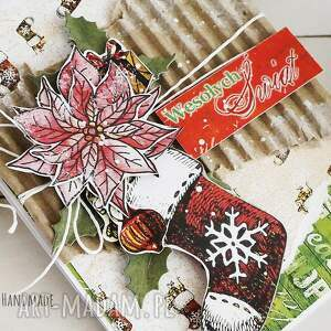 pomysł na świąteczne prezenty kartka świąteczna, 515