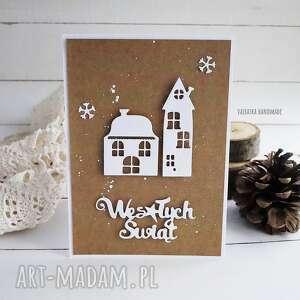 święta prezenty boże narodzenie kartka świąteczna eco, wzór