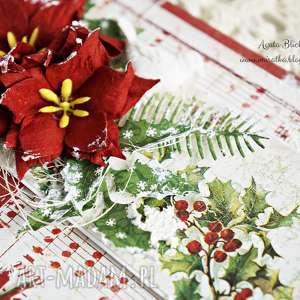 pomysł na upominek na święta boże narodzenie kartka świąteczna (w