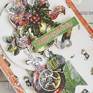 pomysł na świąteczny upominek kartka świąteczna, 516