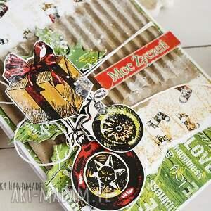 pomysł na świąteczne prezenty kartka świąteczna, 509