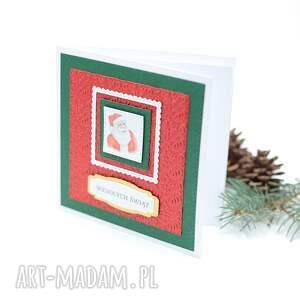 pomysł na prezent świąteczny kartka świąteczna - boże narodzenie